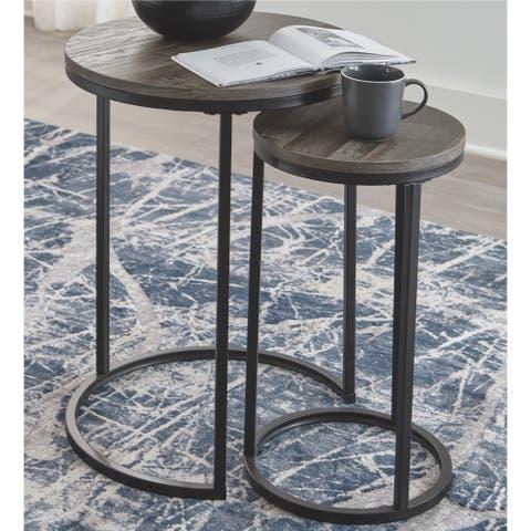 Porch & Den Ridgerun 2-piece Accent Table Set