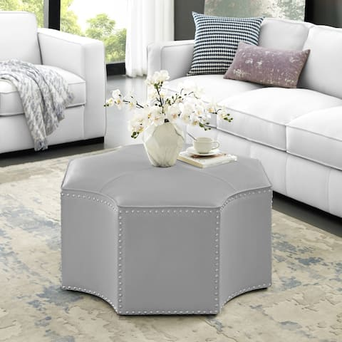 Kraam Octagon Cocktail Ottoman