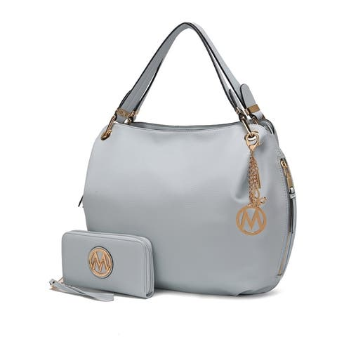 MKF Collection Fabienne Hobo Bag with Wallet by Mia K. Farrow
