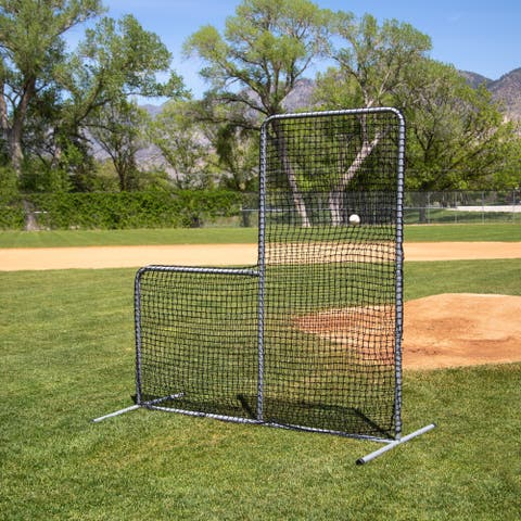 Skywalker Sports Competitive Series 7' L-Shaped Pitchers Screen