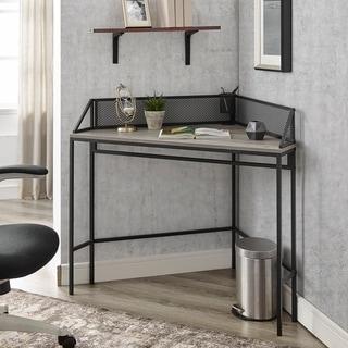 Carbon Loft 42-inch Mesh Back Corner Computer Desk