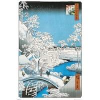 Hiroshige The Drum Bridge