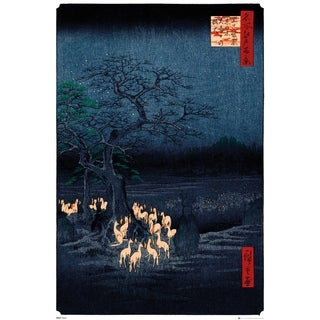 Hiroshige New Years Eve Foxfire