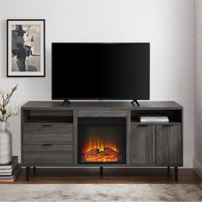 Mid Century Modern Freestanding Fireplaces Online At