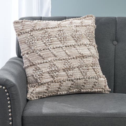 Bloomsbury Boho Cotton Pillow Cover by Christopher Knight Home