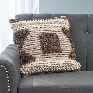 Boswell Boho Cotton Pillow Cover by Christopher Knight Home