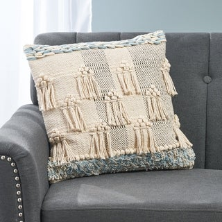 Billard Boho Cotton Pillow Cover by Christopher Knight Home
