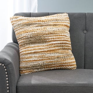 Bracken Boho Fabric Pillow Cover by Christopher Knight Home