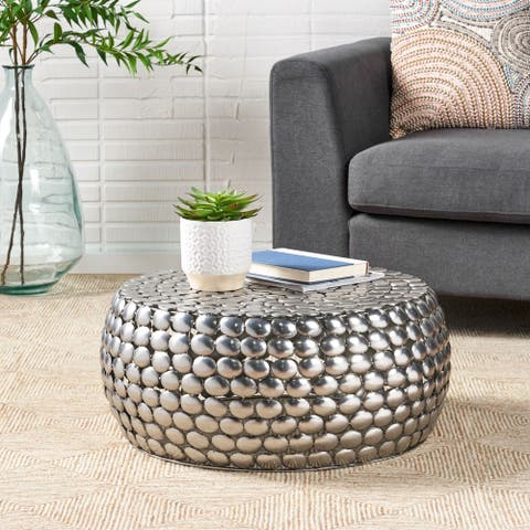Dongan Modern Textured Coffee Table by Christopher Knight Home