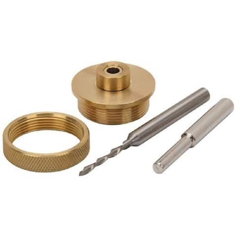 "Whiteside Router Bits 9500 Solid Brass Inlay Kit - 0.25"" Shank"