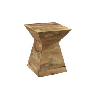 Marvelous Shop Cg Sparks Handmade Mango Wood Mushroom Side Table Download Free Architecture Designs Crovemadebymaigaardcom