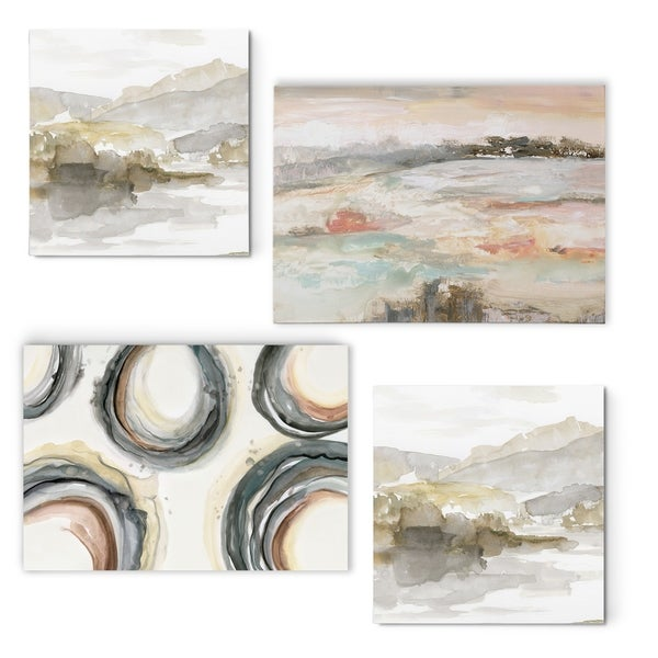Sandy Collection I -Gallery Wrapped Canvas Set