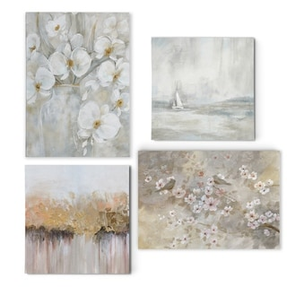 Modern Hues I  -Gallery Wrapped Canvas Set