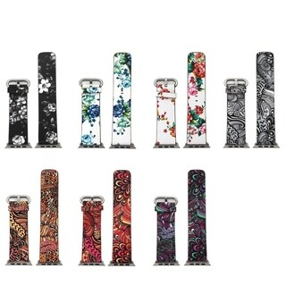 Olivia Pratt Blooming Paisly design Apple Watch Bands