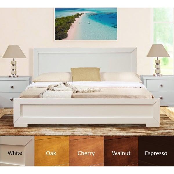 Trent Wooden Platform Bed