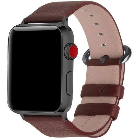 Olivia Pratt Faux Leather Band for Apple watch