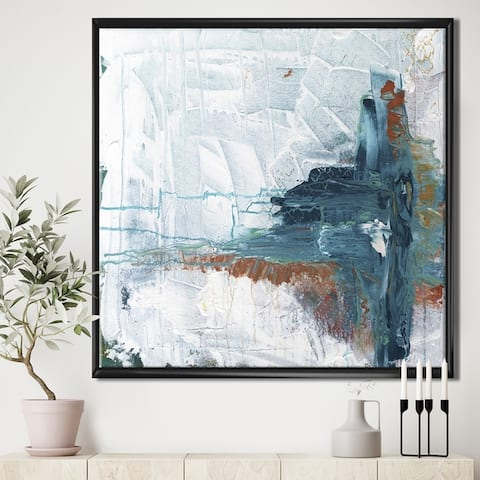 Porch & Den 'The Iceberg Awakens' Gallery-wrapped Framed Canvas