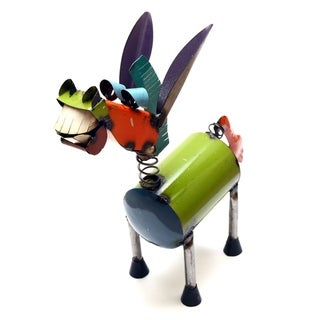 Spring Neck Donkey For Decor, - N/A