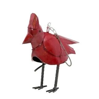 Hanging Bird House Cardinal
