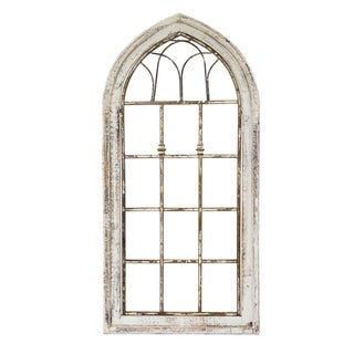 Wooden Window Tubular-Small - N/A