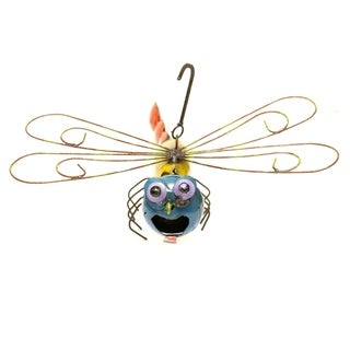 Yellow Dragonfly Hanging Birdhouse