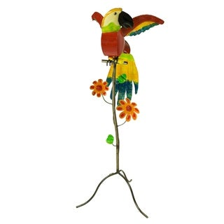 Macaw On Stand - Large - N/A
