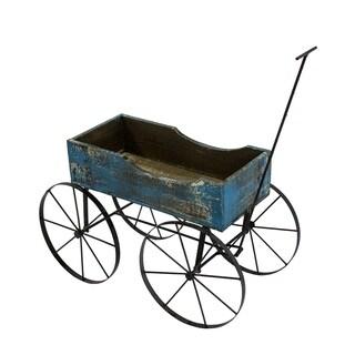 Wood Wagon 4 Wheels - N/A