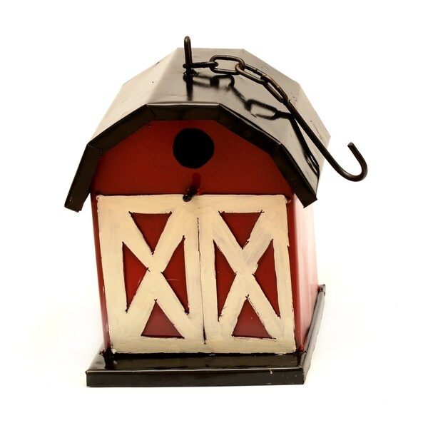 Hanging Barn Birdhouse For Dec - N/A