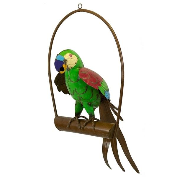 Parrot On Ring - Medium - N/A