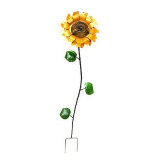 Small Sunflower Stake For Décor - N/A