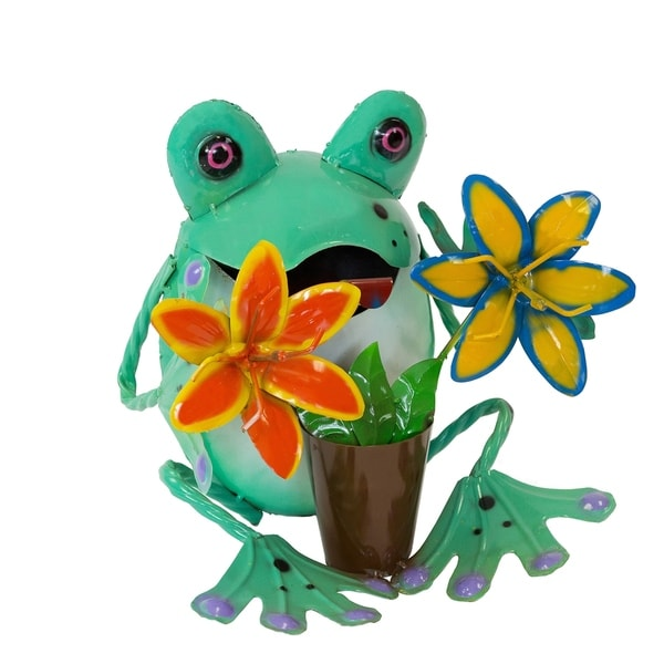 Frog W/ Lilies - Small - N/A