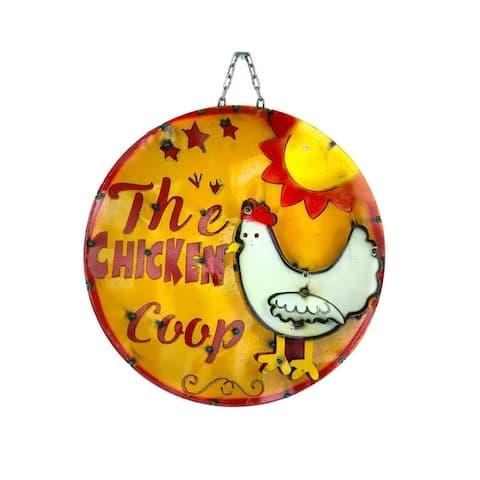Chicken Coop Round Sign