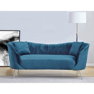Link to Flores Velvet Sofa Similar Items in Sofas & Couches