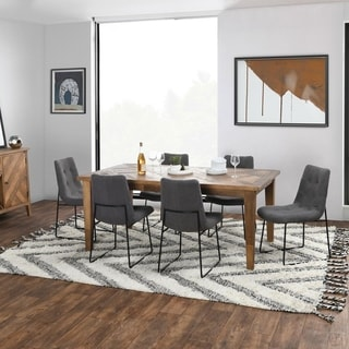 Carbon Loft Chimo Reclaimed Parquet Dining Table - 30Hx71Wx39D