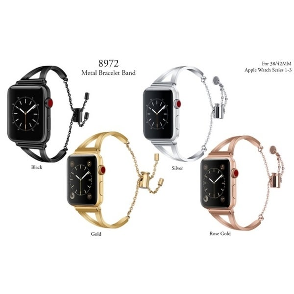 Olivia Pratt Metal Bracelet Band for Apple Watch