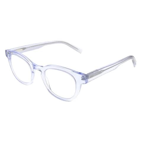 Eyebobs Waylaid EB 2231 51 2.75 Unisex Crystal Frame Reading Glasses 46mm
