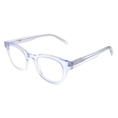 Eyebobs Waylaid EB 2231 51 1.50 Unisex Crystal Frame Reading Glasses 46mm