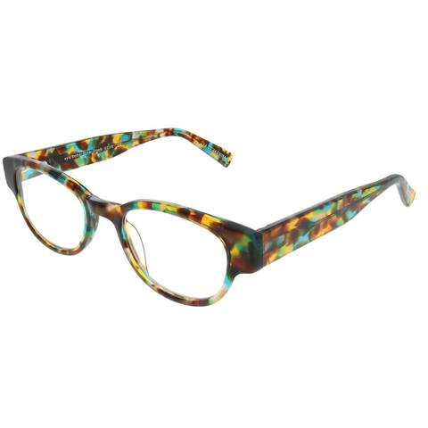 Eyebobs Rita Book EB 2258 16 2.00 Unisex Spotty Blue Tortoise Frame Reading Glasses 47mm