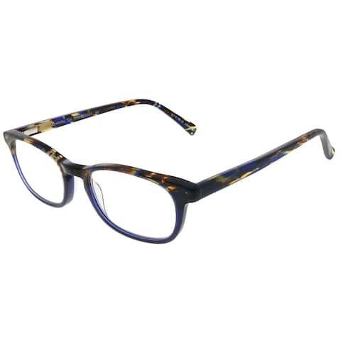 Eyebobs On Board EB 2227 50 2.00 Unisex Blue Tortoise Frame Reading Glasses 47mm