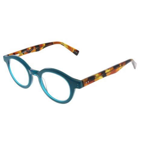 Eyebobs TV Party EB 2236 59 2.50 Unisex Teal Frame Reading Glasses 44mm