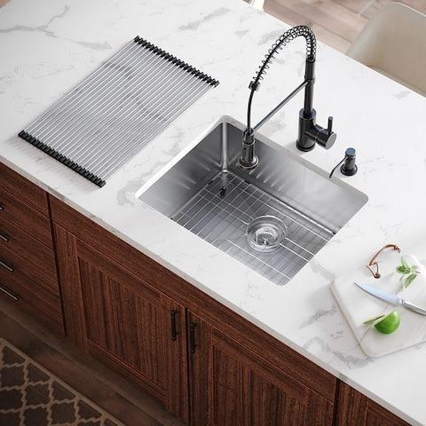 Sensational Rectangle Kitchen Sinks Shop Online At Overstock Download Free Architecture Designs Sospemadebymaigaardcom