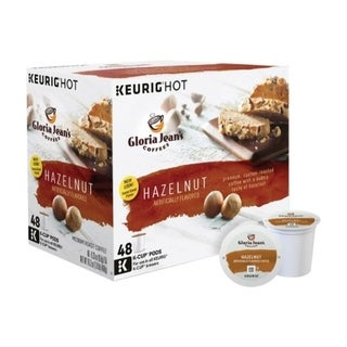 Link to Keurig  Gloria Jean's  Hazelnut  Coffee K-Cups  48 pk Similar Items in Kitchen Appliances