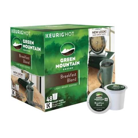 Keurig Green Mountain Breakfast Blend Coffee K-Cups 48 pk