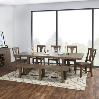 Carbon Loft Pallero Reclaimed Pine 82-inch Extension Dining Table