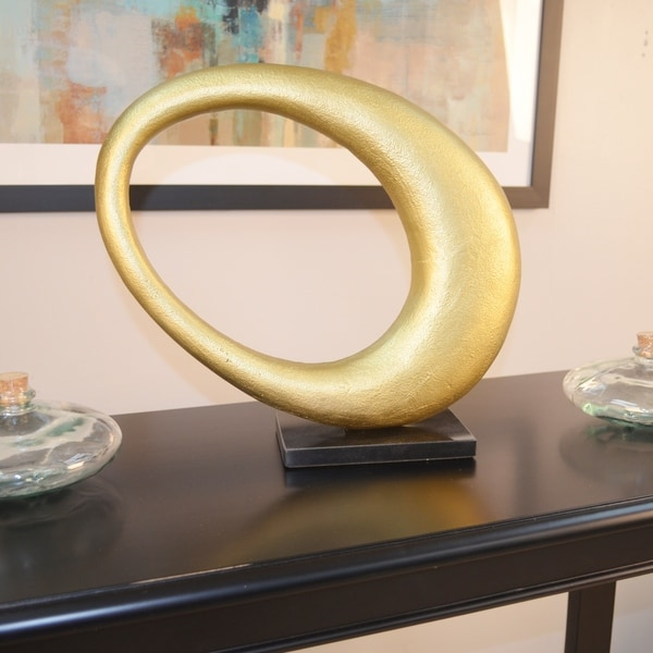 Onoa Gold Table Top Accent