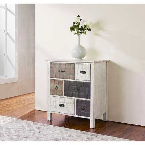 Huckleberry Weathered multi-tone 6-drawer Chest