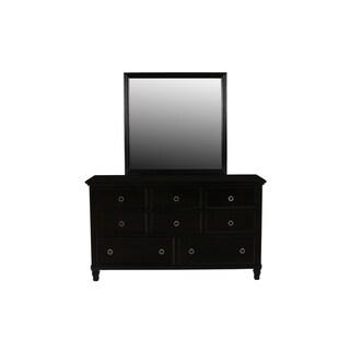 Tamarack Black 8-drawer Dresser