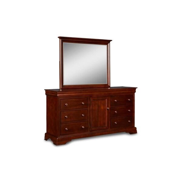 Versailles Bordeaux 6-drawer Dresser