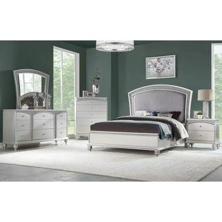 ACME Maverick Dresser in Platinum