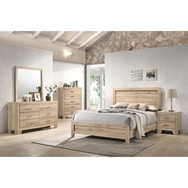 ACME Miquell Eastern King Bed in Natural. Opens flyout.